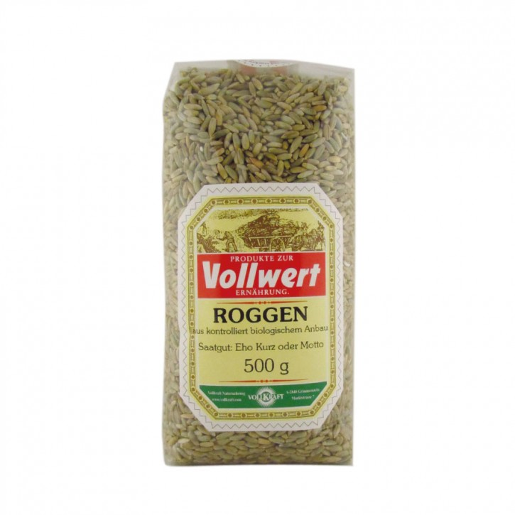 Roggen bio 500g Vollkraft