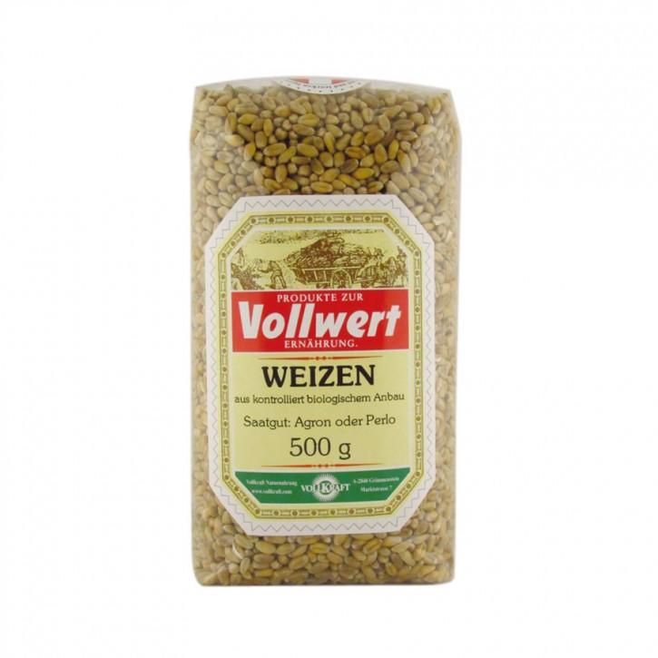 Weizen bio 500g Vollkraft