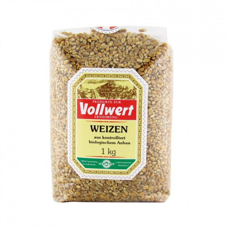 Bio Weizen 1kg Vollkraft
