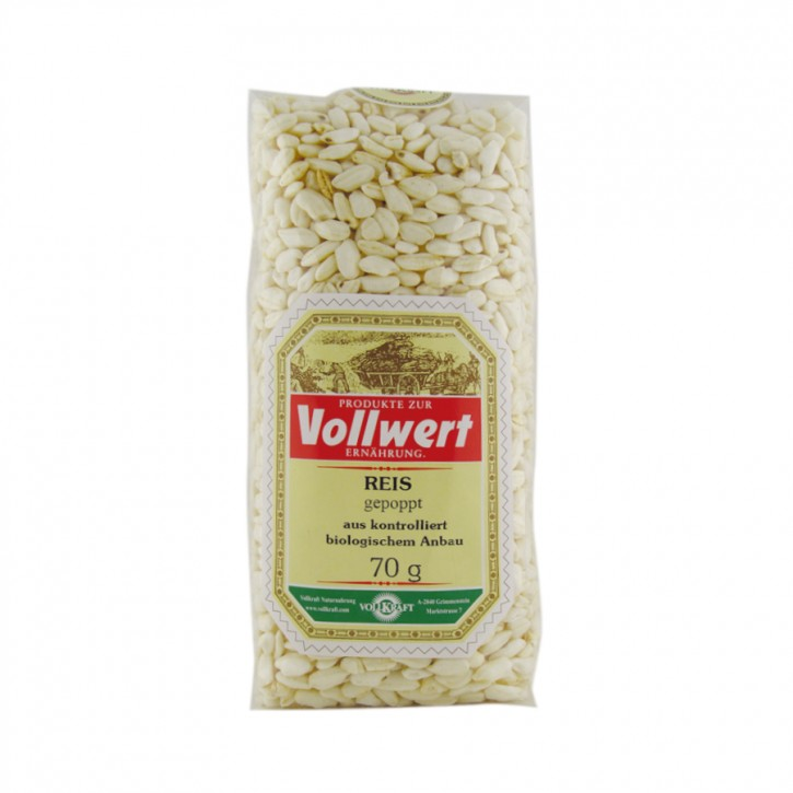 Reis gepoppt bio 70g Vollkraft