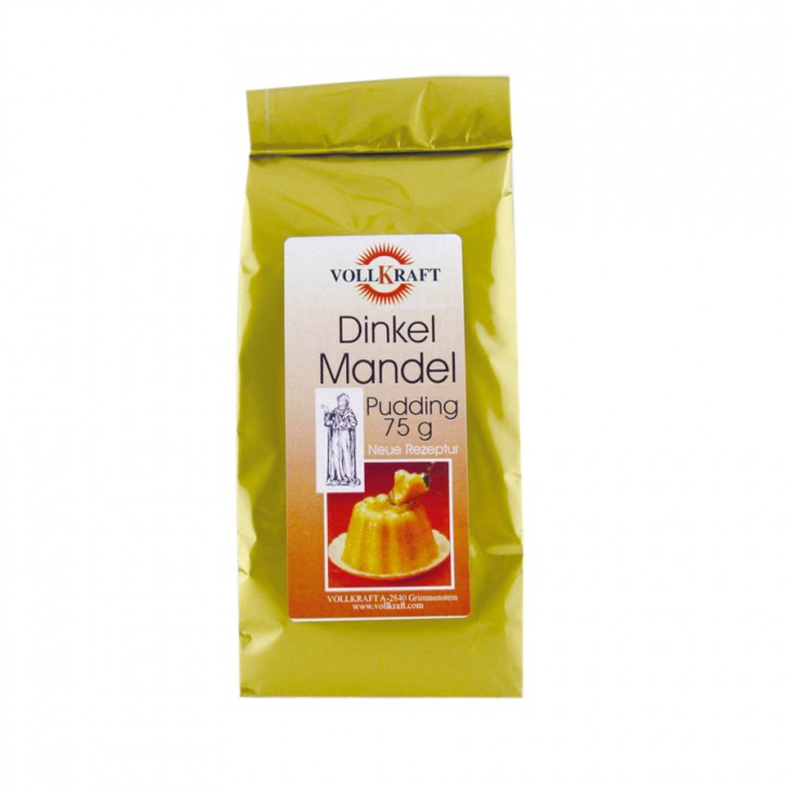 Dinkel Mandel Pudding 75g Vollkraft