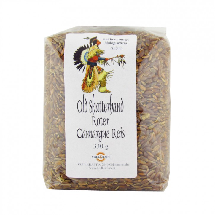 Old Shatterhand Roter Camarague Reis bio 330g Vollkraft