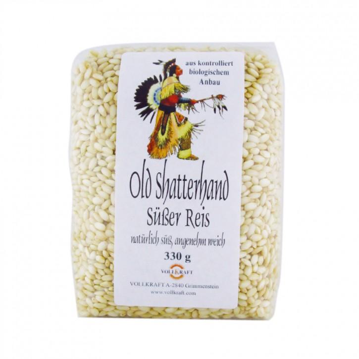 Old Shatterhand Süßer Reis bio 330g Vollkraft