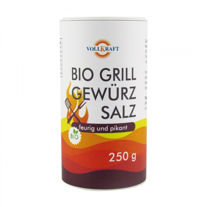 Bio Grillgewürzsalz 250g Vollkraft