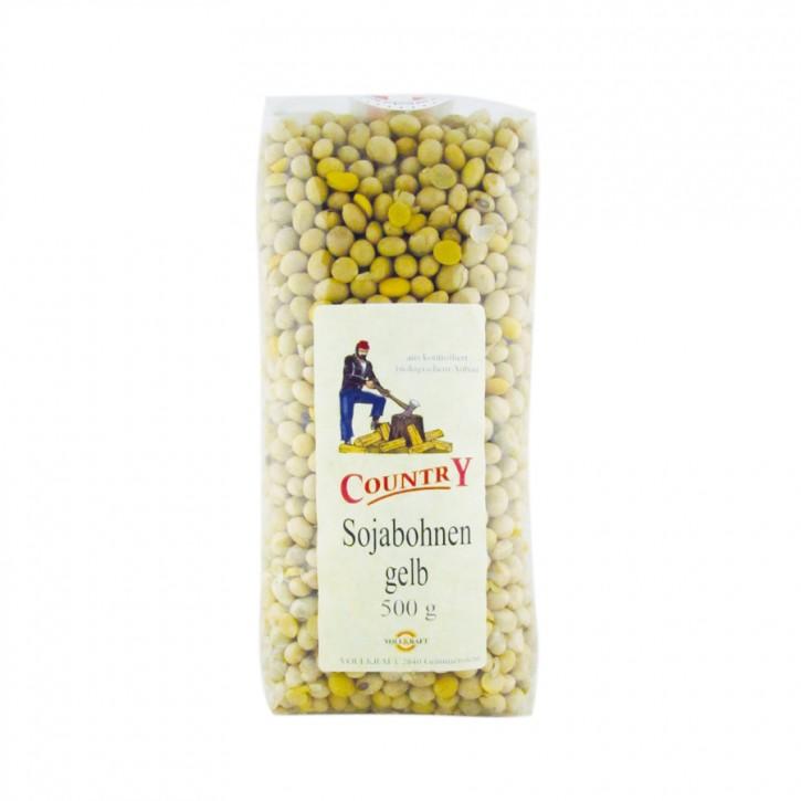 Sojabohnen gelb bio 500g Vollkraft