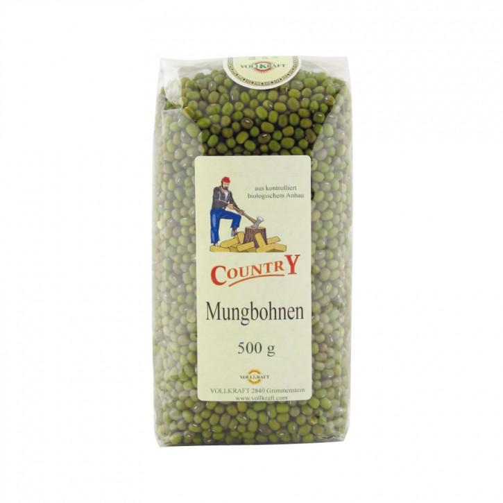 Mungbohnen (Sojabohnen grün) bio 500g Vollkraft
