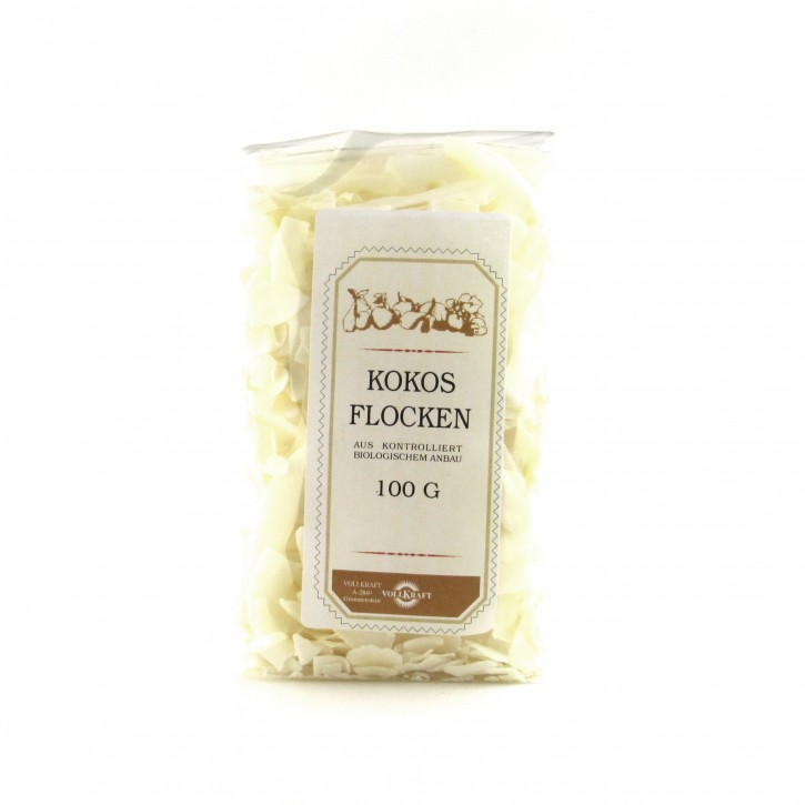 Kokosflocken bio 100g Vollkraft