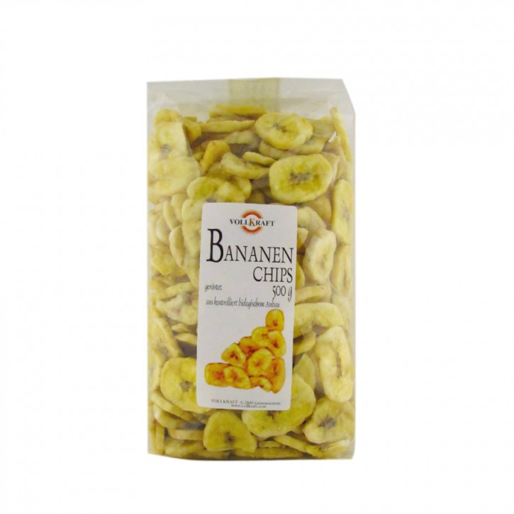 Bananenchips bio 500g Vollkraft