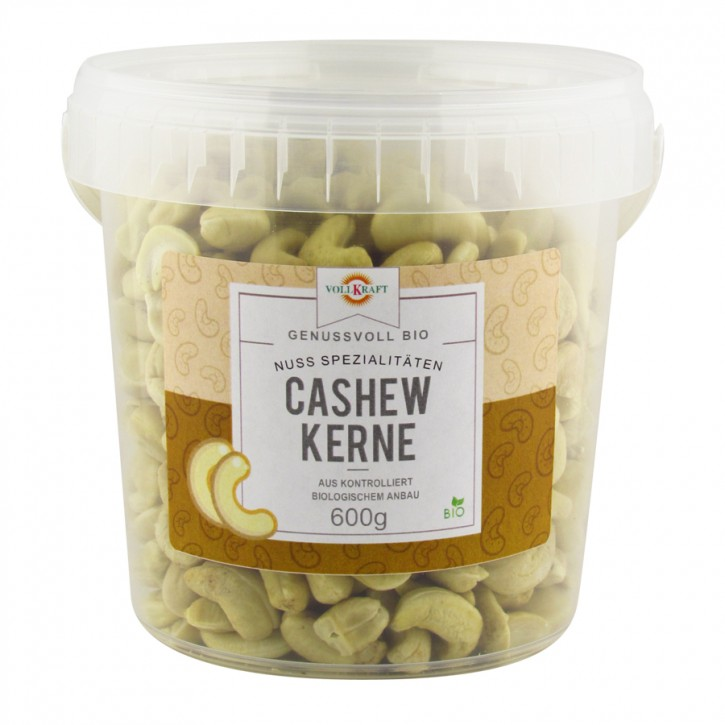 Cashewkerne bio Box 600g Vollkraft