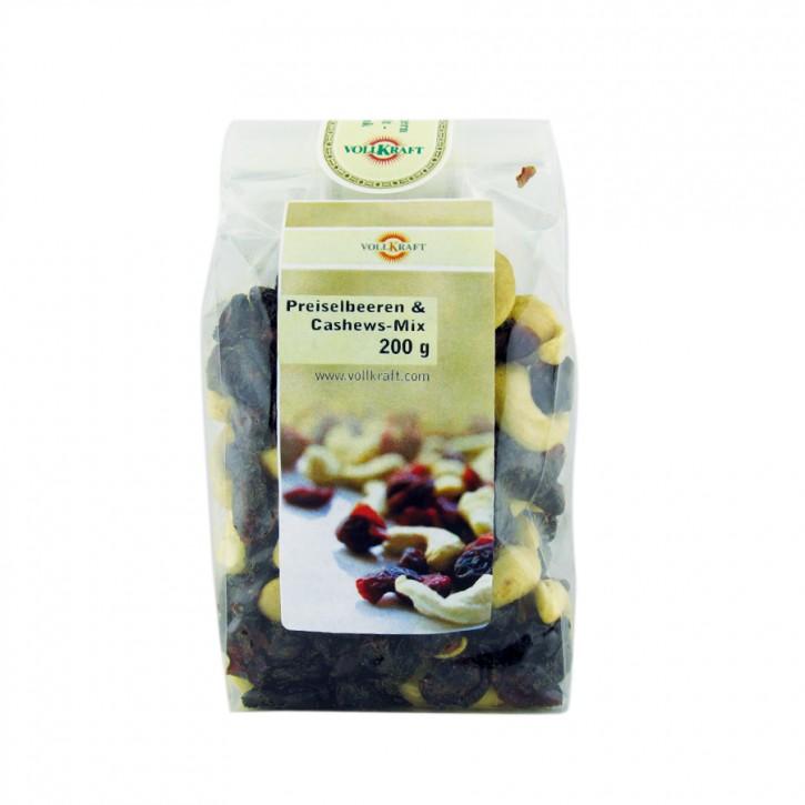 Preiselbeeren & Cashew Mix 200g Volkraft
