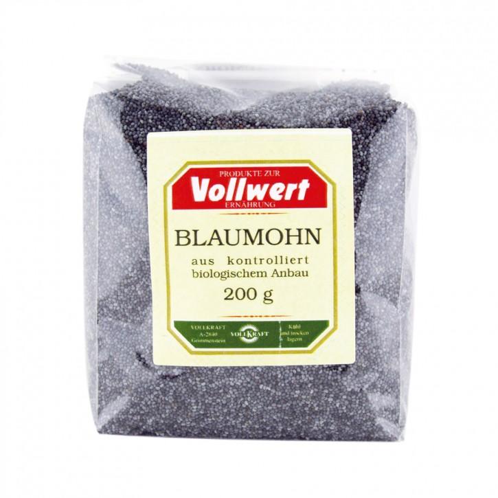 Blaumohn bio 200g Vollkraft