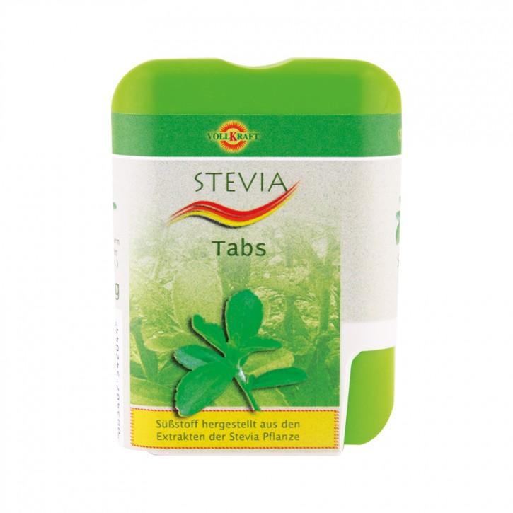Stevioglycosid Tabs Spender 18g Vollkraft