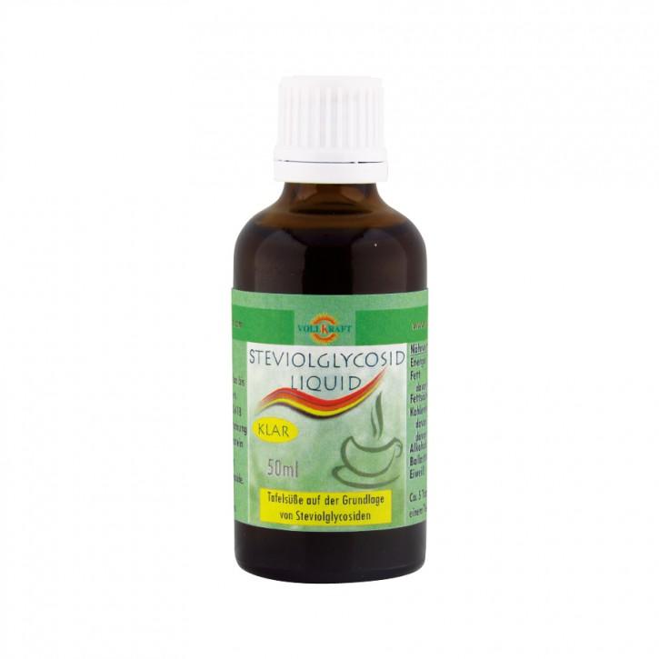 Stevioglycosid Liquid klar aus Extrakt 50ml Vollkraft