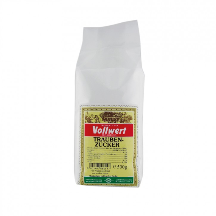Traubenzucker 500g Vollkraft