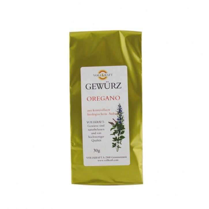 Oregano bio 30g Vollkraft