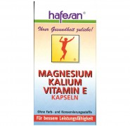 Magnesium+Kalium+    Vitamin E Kapseln Hafesan 60Stk