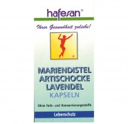 Mariendistel + Artischocke + Lavendel Kapseln Hafesan 60Stk