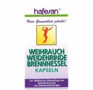 Weihrauch + Weidenrinde + Brennnessel Kapseln Hafesan 60Stk