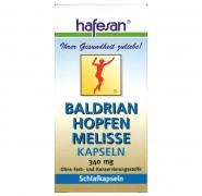 Baldrian + Hopfen + Melisse Kapseln  Hafesan 60Stk