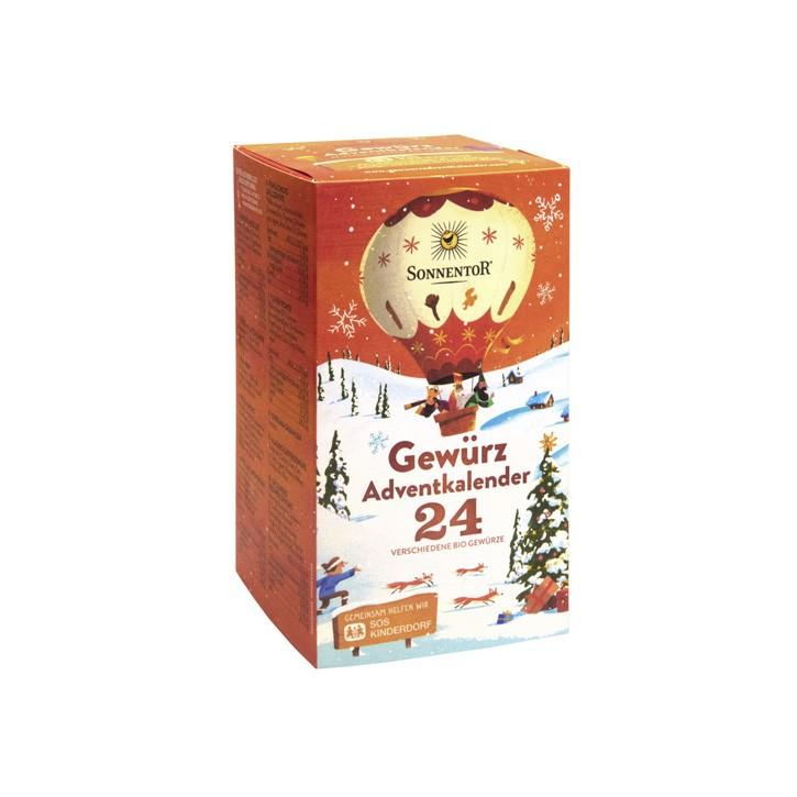 Gewürz Adventkalender bio Spender 24Btl.