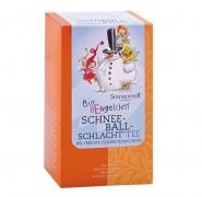 Sonnentor Aufgussbeutel Bio-Bengel Schneeballschlacht Spender 20Btl.
