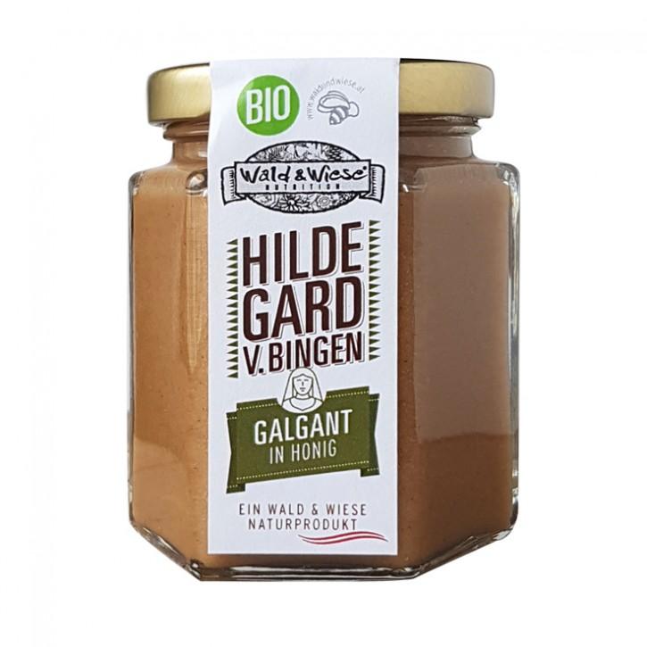 Galgant in Honig bio  Wald und Wiese 250g
