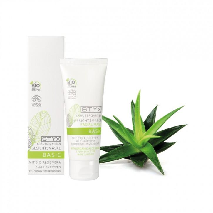 Kräutergarten Gesichtsmaske mit Bio Aloe Vera 70ml Styx