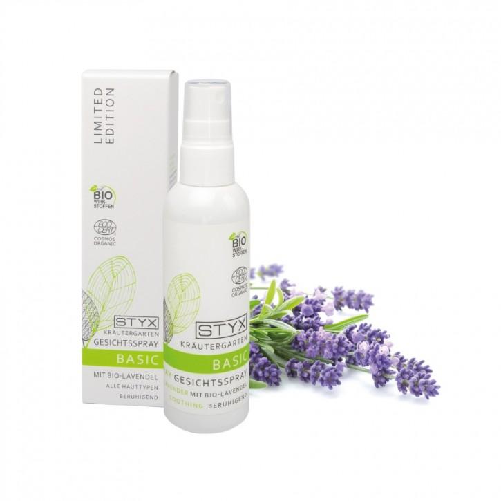Kräutergarten Gesichtsspray mit Bio Lavendel 100ml Styx