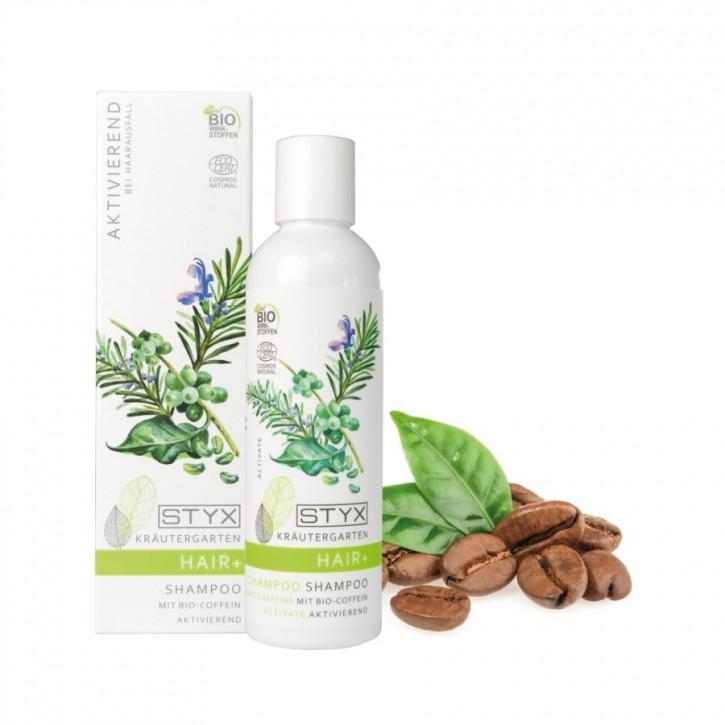 Kräutergarten Shampoo mit Bio Coffein 200ml Styx