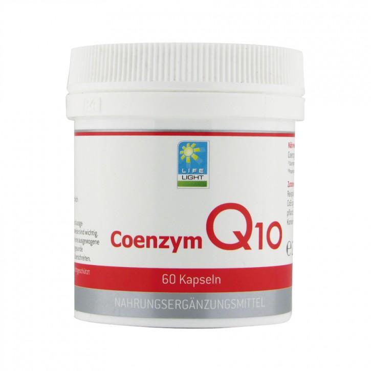 Coenzym Q10 rein 60 Kapseln Life Light
