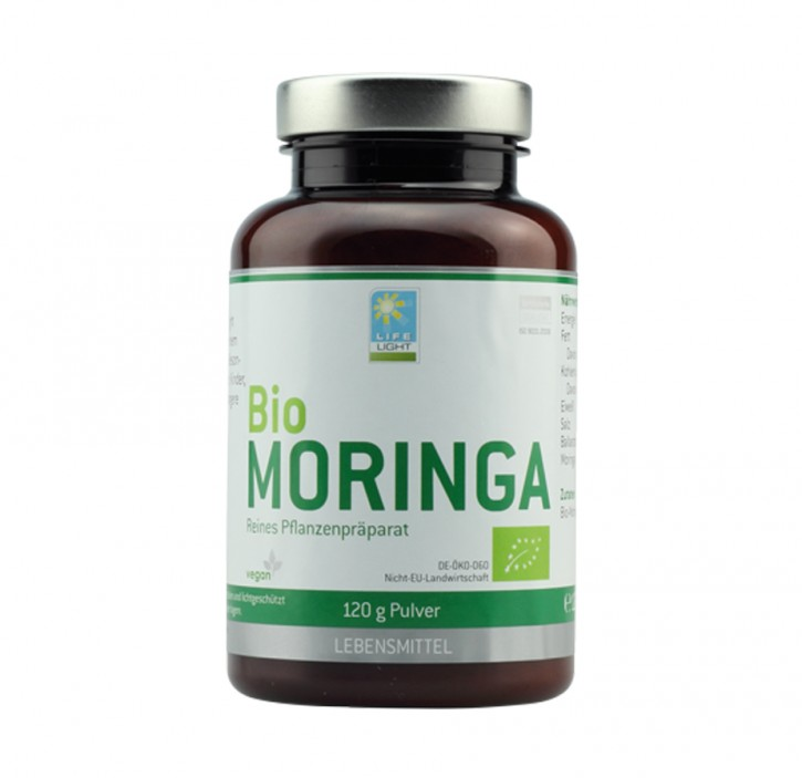 Bio Moringa Pulver, 120g
