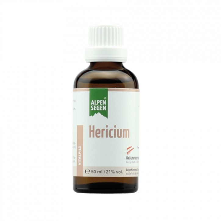 Alpensegen Hericium Vitalpilz 50ml Life Light