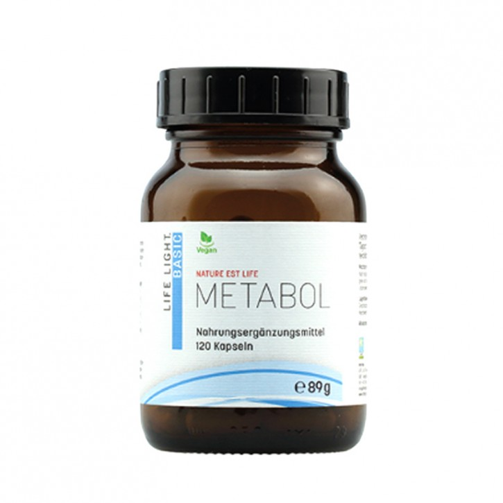 Nature est Life - Metabol 120 Kaps. Life Light