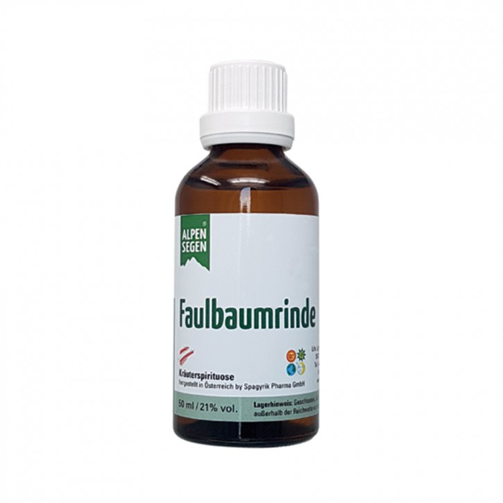 Alpensegen Faulbaumrinde Kräuteressenz 50ml Life Light