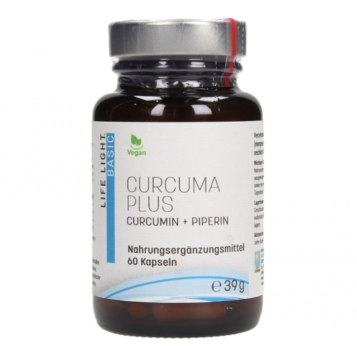 Curcuma plus 60 Kapseln Lifelight