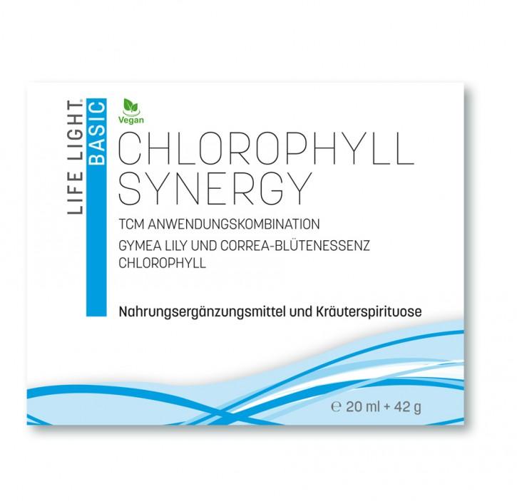 Chlorophyll synergy TCM Anwendungskombination