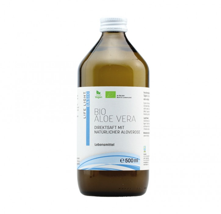 Bio Aloe Vera Saft 500 ml Lifelight