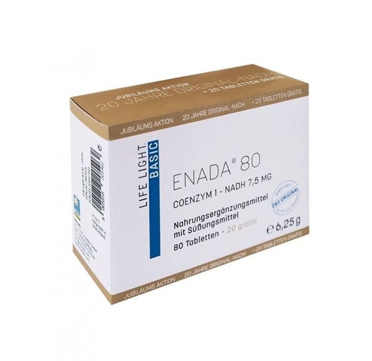 ENADA N.A.D.H 80+20 Stk. gratis  à 7,5 mg