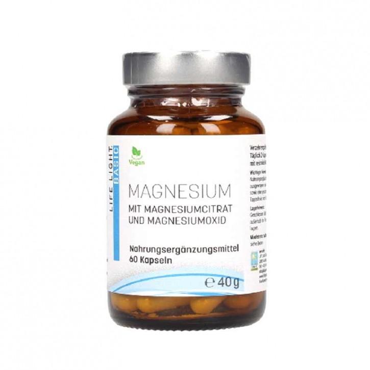 Magnesium 150mg 60 Kapseln   Life Light