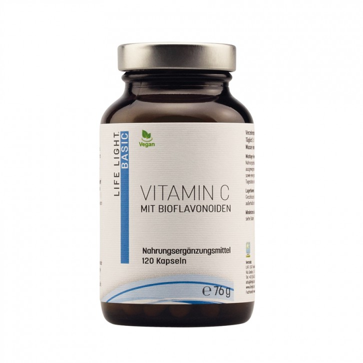 Vitamin C mit Bioflavonoiden 60 Stk. Life Light