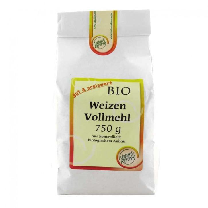Weizenvollmehl bio 750g Natur & Reform