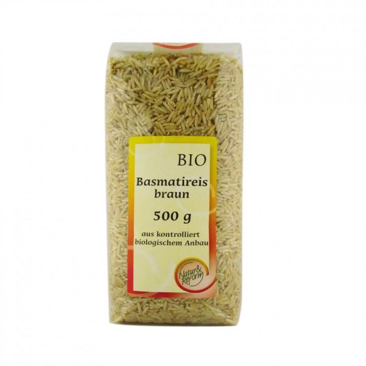 Bio Basmatireis braun 500g Natur & Reform