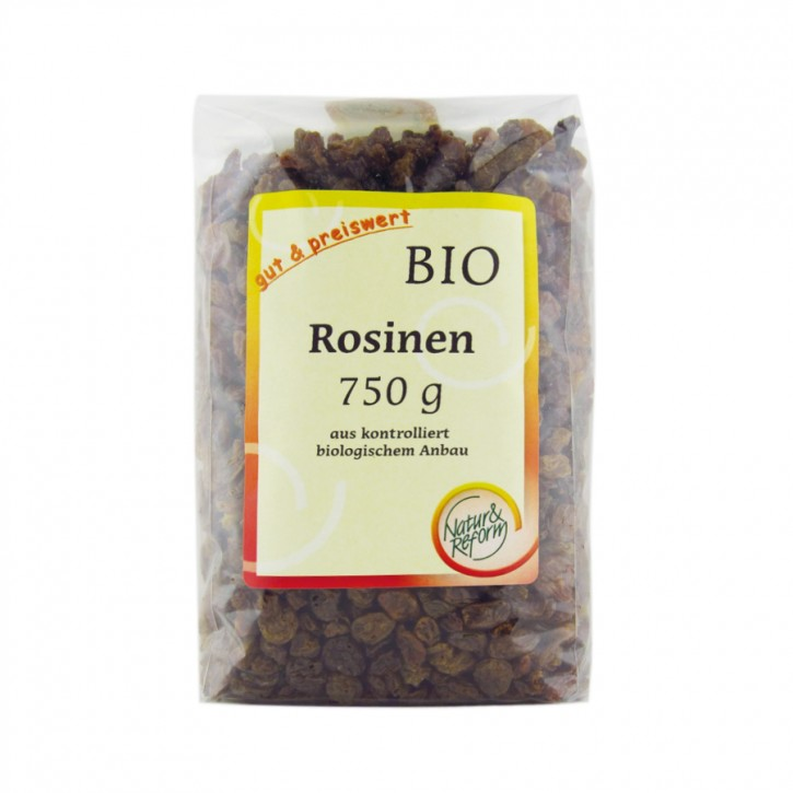 Bio Rosinen hell 750g Natur & Reform