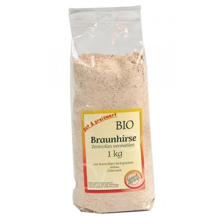 Braunhirse bio zentrofan vermahlen 1kg