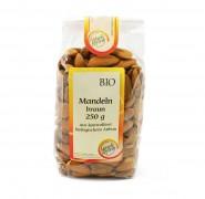 Bio Braune Mandeln 250g