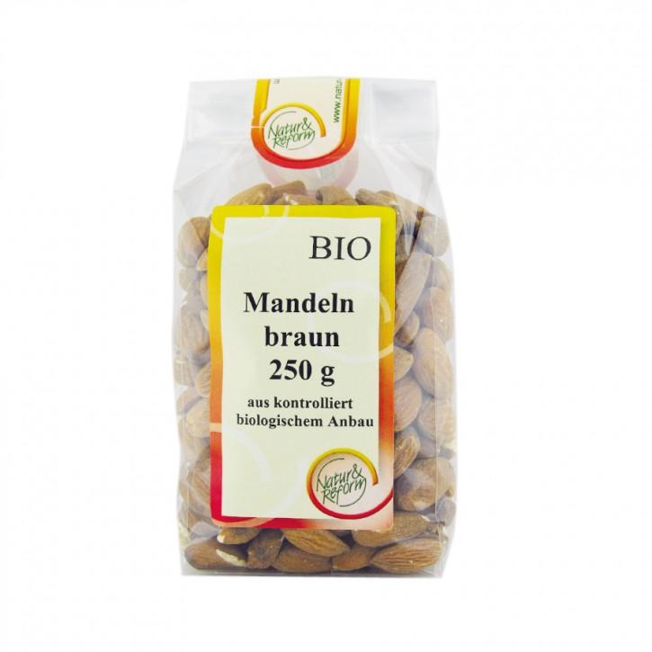Bio Mandeln braun 250g Natur & Reform
