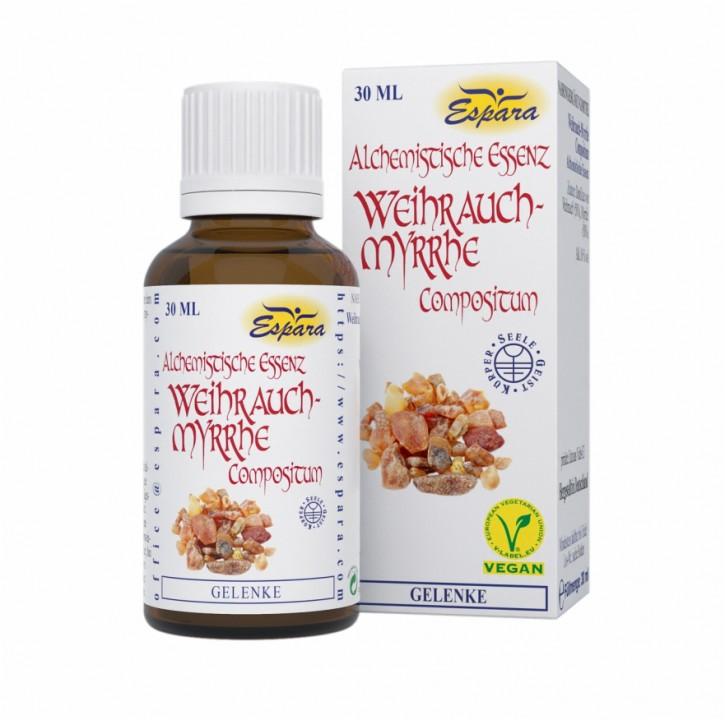 Alchemistische Essenz  Weihrauch Myrrhe 30ml Espara