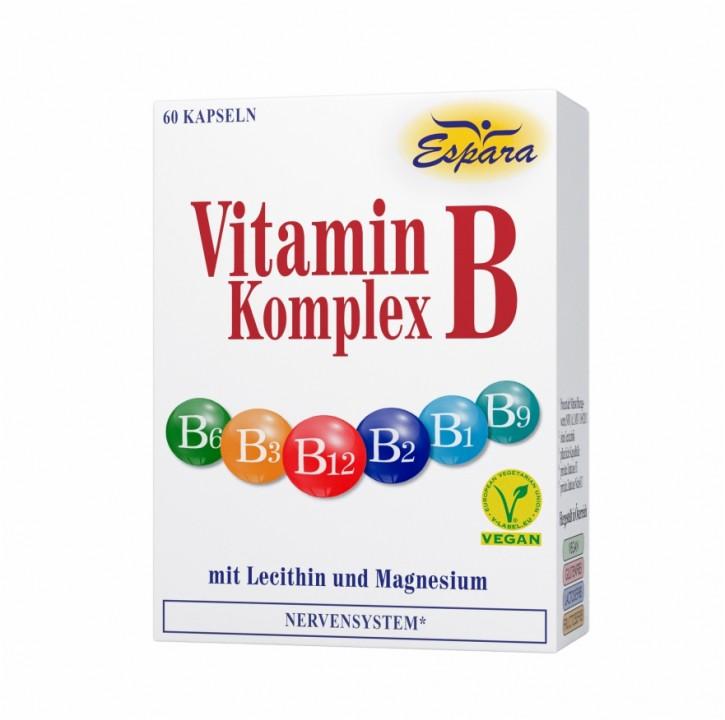 Vitamin B Komplex 60 Stk. Espara