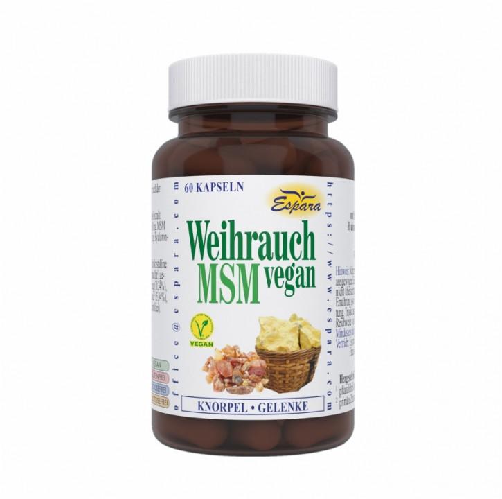 Weihrauch-MSM Kapseln Espara 60Stk