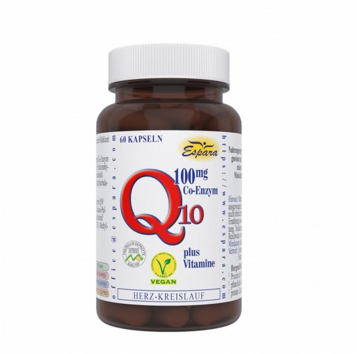 Q10-100 mg Kapseln Espara 60Stk